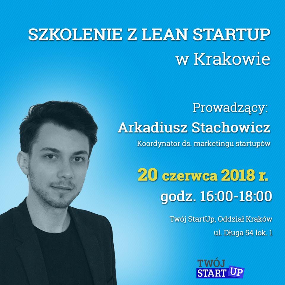 Arkadiusz Stachowicz - szkolenie Lean Startup