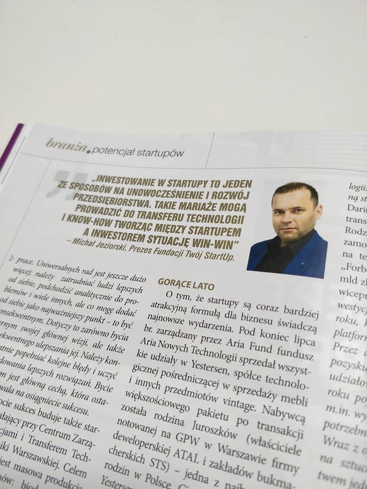 Michał Jeziorski - wywiad Biznes Meble